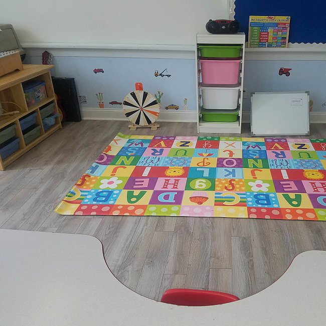 3's and 4's Room at Little Sunshines
